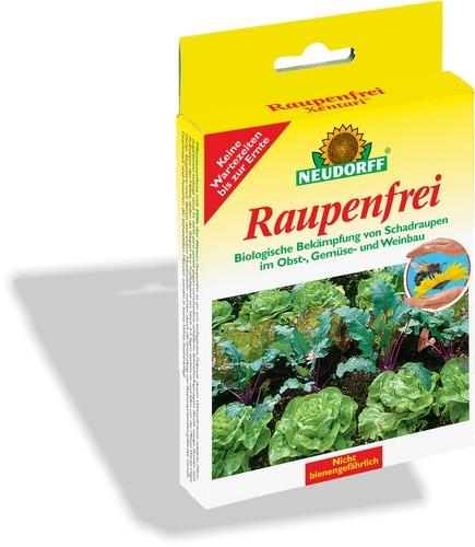 Raupenfrei xentari neudorff for Gelbtafeln gegen zikaden