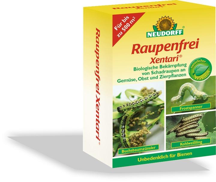 Raupenfrei xentari neudorff for Gelbsticker neudorff