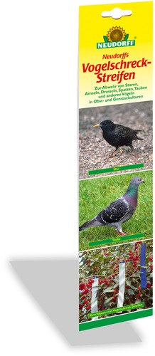 Vogel schreck vogelschreckstreifen for Neudorff gelbsticker