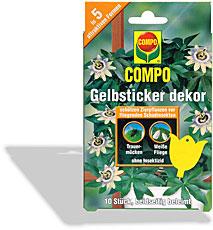 Gelbsticker dekor compo for Gelbtafeln gegen zikaden