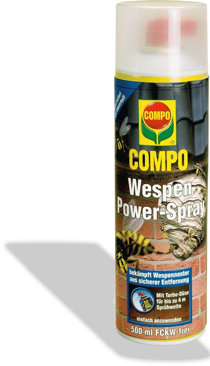 Wespen power spray schaum gel for Gelbsticker gegen fliegen