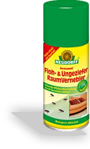 Permanent floh ungezieferraumvernebler neudorff for Gelbsticker gegen fliegen