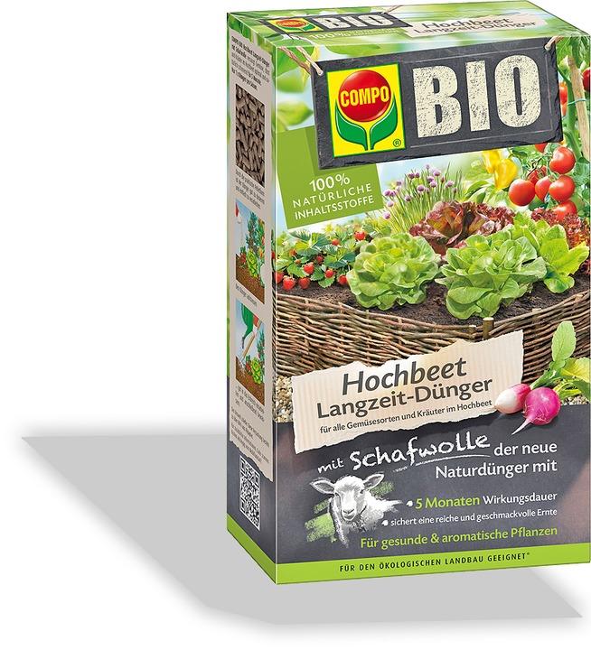 Garten Langzeit Dunger Bio Schafwolle