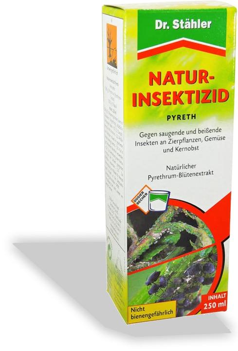 Pyreth natur insektizid for Gelbtafeln gegen zikaden