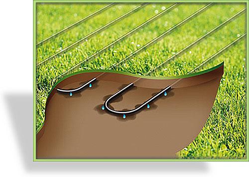 micro drip system tropfrohr gardena. Black Bedroom Furniture Sets. Home Design Ideas