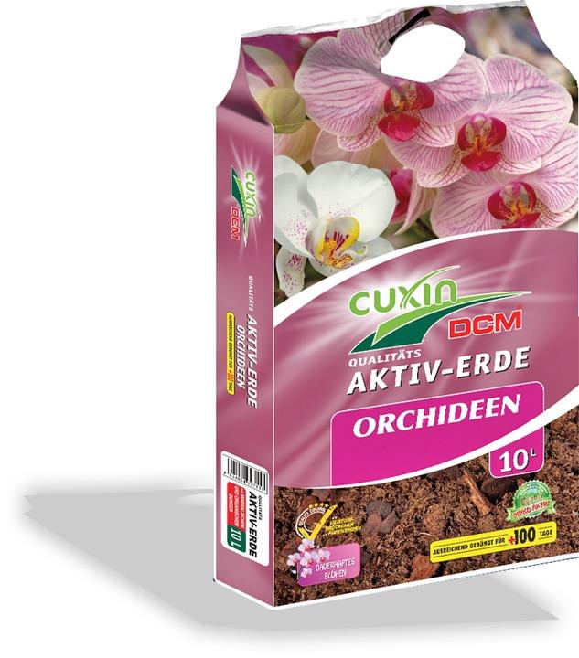 aktiv erde orchideen