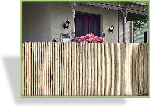 sichtschutzmatten weide bambus. Black Bedroom Furniture Sets. Home Design Ideas
