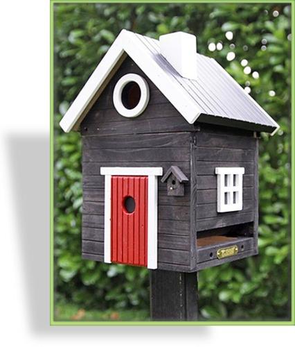 vogelhaus futterhaus nistkasten. Black Bedroom Furniture Sets. Home Design Ideas