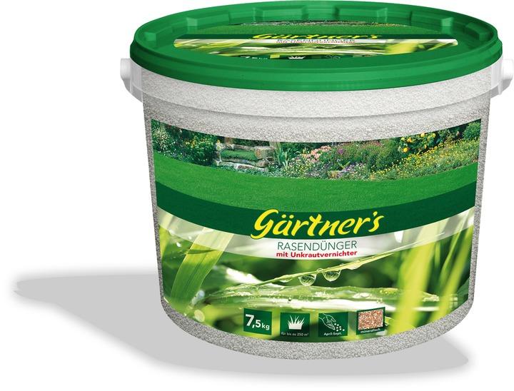 Gärtners Dünger Rasen